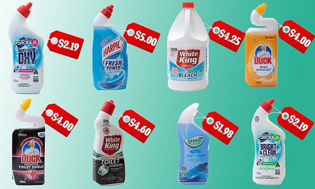 Australia's leading consumer organisation CHOICE trialled 21 toilet cleaners on stubborn stains to determine which cleans the surfaces most effectively