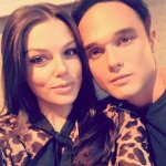 Faye Brookes looks stunning in a salmon pink dress as she enjoys date night with hunky boyfriend