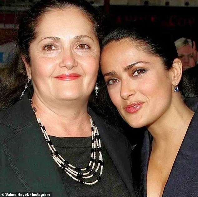 'Thank you for the life, the love, and the genes': Salma Hayek penned a sweet tribute to her lookalike mother Diana via Instagram to wish her a happy birthday on Tuesday