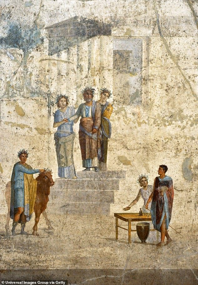 According to researchers who recreated how much artificial light a person would have had access to in both 1820 London and pre-Vesuvius Pompeii, the Romans had around 17 per cent more light than the Georgians