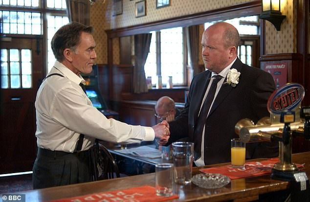Maurice Roeves (pictured left with Phil Mitchell in EastEnders) has died at the age of 83, his agent has said