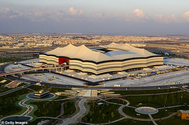 The opening match of the tournament on November 21 will take place at Al Bayt stadium