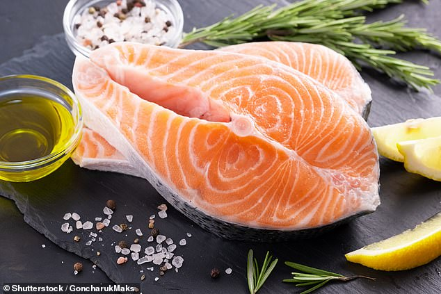 'Fish are an excellent source of omega-3 fatty acids and easy to add to the diet,' said paper author and epidemiologist Ka Kahe of New York's Columbia University. 'Omega-3 fatty acids have been shown to fight inflammation and maintain brain structure in ageing brains'
