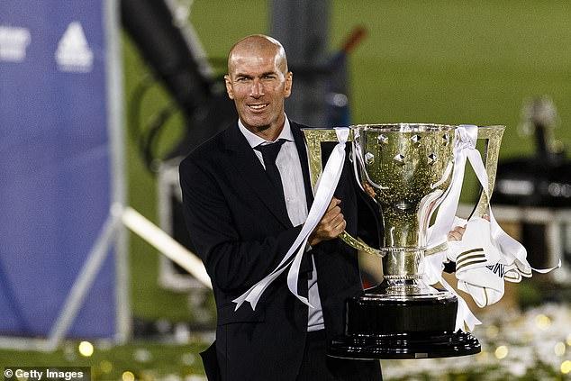 Zidane a salué la victoire de la ligue comme plus importante que celle qu'il a remportée en Ligue des champions