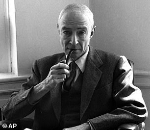 Oppenheimer was haunted by the 200,000 Japanese civilians that were killed in Hiroshima and Nagasaki. He told Truman: 'Mr. President, I feel I have blood on my hands'