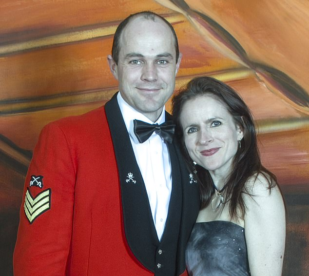 Survivor: Victoria with husband Sgt Emile Cilliers, who tried to kill her