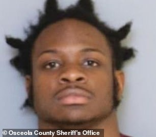 Demetrius Cox, 20 (pictured), has been taken into custody after allegedly shooting a man at one of the house parties in April Sheriff said at least 600 noise complaints had been received