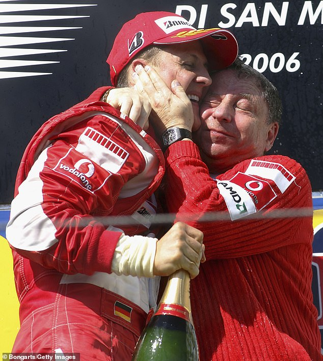 Todt was the team prinicipal for Ferrari when Schumacher drove and won titles for the team