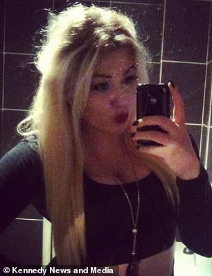 Kiri, pictured with hair as a teenager, admits that losing her hair made her consider suicide