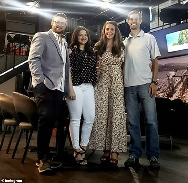 Go, girl! In July, Jill and Derick visited a whiskey and cigar lounge owned by her cousin Amy's husband Dillon King