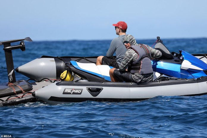 Zuckerberg safety followed closely on boat, photos say