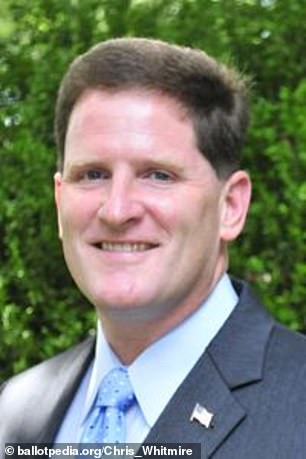 Chris Whitmire (pictured), a spokesman for the South Carolina Board of Elections, said 'there are no exceptions to the deadlines.' He added: 'The state election commission did not receive a petition from Kanye West'