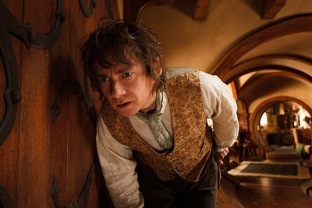 The property is similar to the one lived in by Martin Freeman appearing as Bilbo Baggins in The Hobbit: An Unexpected Journey.