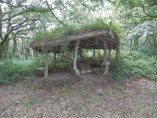 Located within the grounds of the property is also a small teaching roundhouse (pictured)