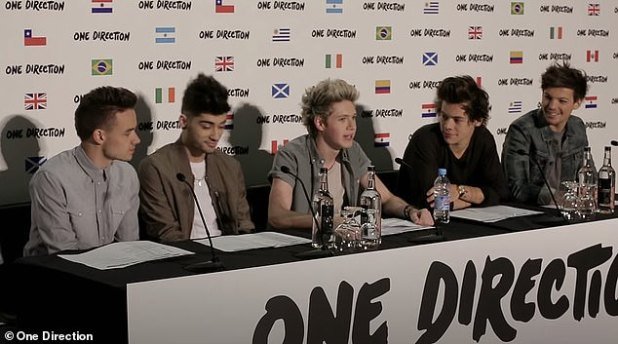 Struggles: When asked if he ever felt like a 'prisoner,' Niall said, 'A couple times, yeah, because we were 17, 18, 19 for the first few years, and I struggled with that.  (pictured during its heyday)
