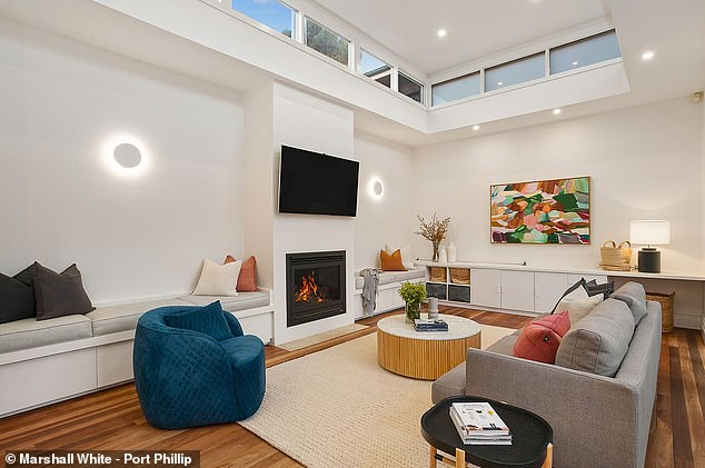 Luxury pad: The former couple had paid $3.76million for the home back in September 2017