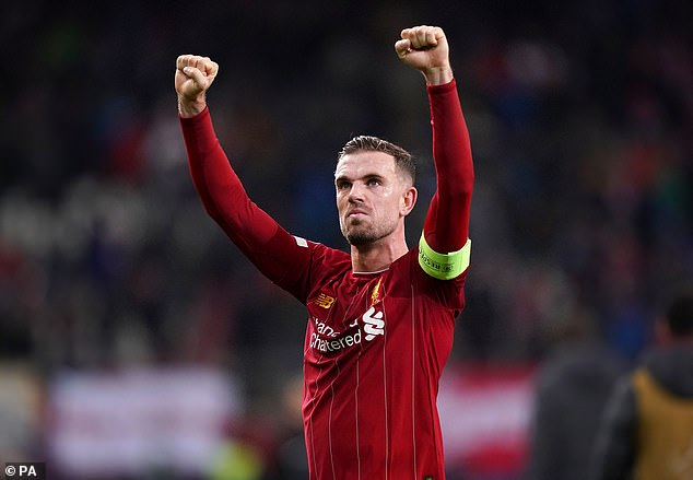 Henderson inspired Liverpool to their first league title since 1990 this season