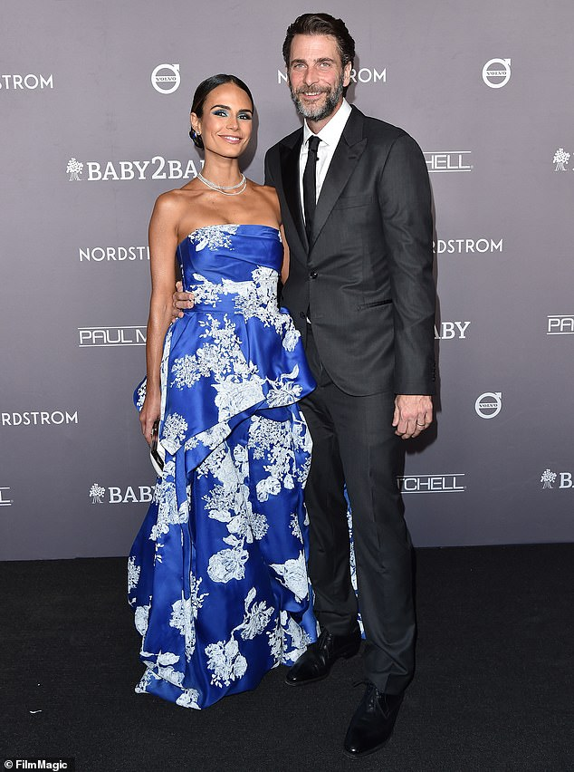 Divorce:Jordana and Andrew married in 2007 after meeting on the set of the 2006 horror film The Texas Chainsaw Massacre: The Beginning; Jordana and Andrew pictured in 2019
