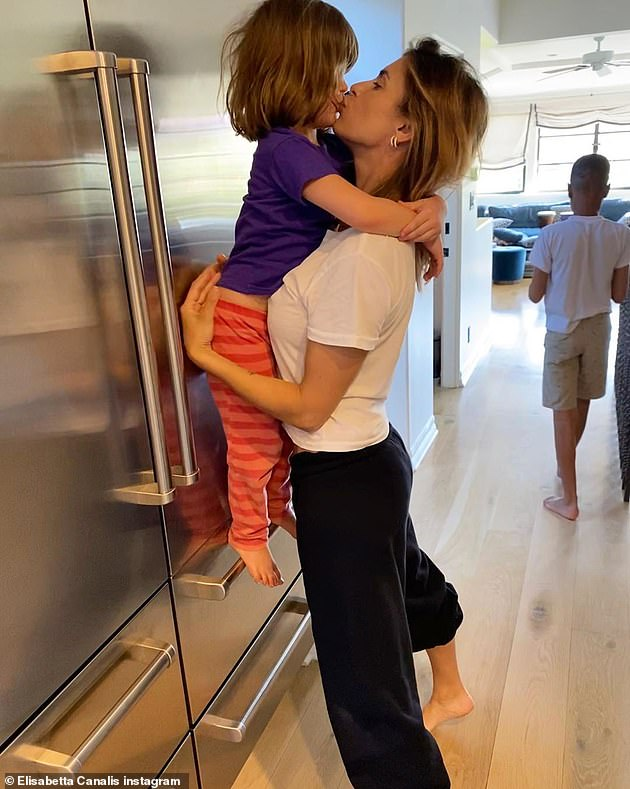 'Just feeling blessed':A year after her wedding Elisabetta welcomed her firstborn daughter Skyler, who is now five