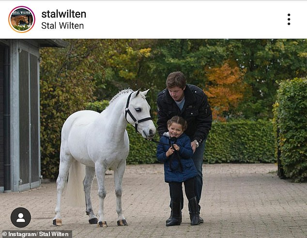 Breeder Stal Wilten confirmed Kylie picked up the $200,000 pony in an Instagram post on Thursday in which he he referred to thegrey pony hunter as'most famous pony of them all'