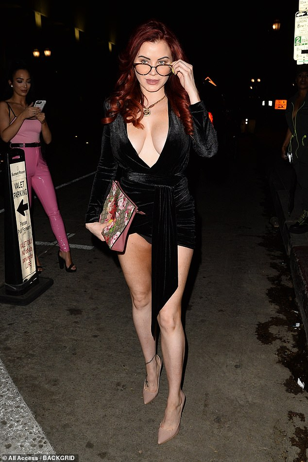 Cheating?  In 2013, Playboy model Carla Howe claimed she slept with Evra in her hotel room in Paris (Carla pictured in 2019)
