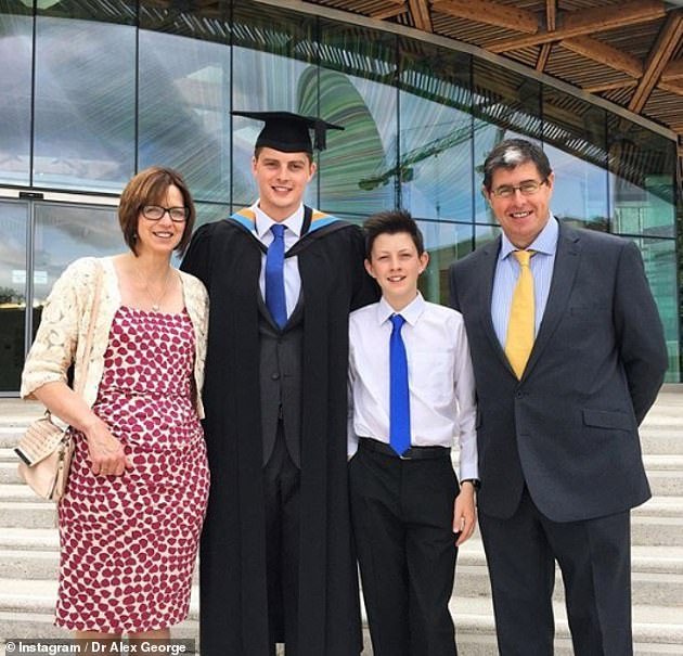 Emotional:It is believed that Dr Alex's brother would have been 19 at the time of his death, which came after he'd been accepted to medical school