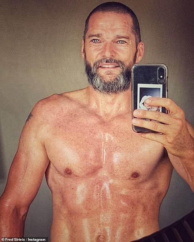 Fully matured: First Dates star Fred Sirieix, 48 made a very raunchy admission about his bedroom antics as he revealed that he has 'never enjoyed sex as much as now'