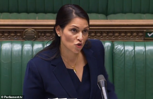 Writing on Twitter this afternoon, Ms Patel said: Wiley's anti-Semitic messages are heinous'
