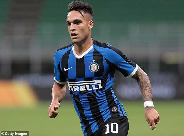 Inter Milan striker Lautaro Martinez is being courted by Barcelona for a big-money move