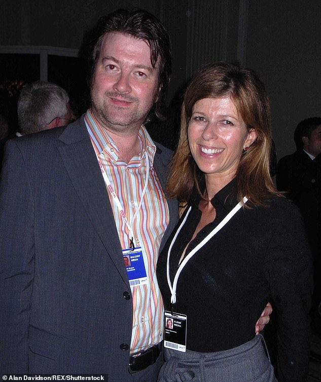 Touching: Derek has credited Kate for saving him from depression which started during his career as a political advisor and led to a nervous breakdown (pictured in 2006)