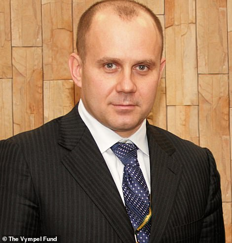 President Eduard Bendersky is seen in pages from the Vympel Charitable Fund For Former FSB Officers