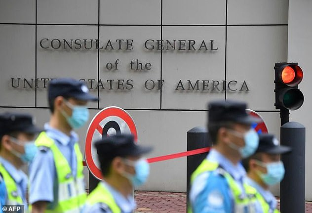 The Communist government's move was a response to the Trump administration's order last week for Beijing to close its consulate in Houston within 72 hours. The US' Chengdu mission was ordered to shut in retaliation for the forced closure of Beijing's consulate in Houston