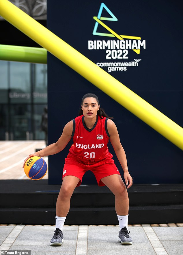 Basketball star Dominique Allen says she can't wait for the Games to be held on her home turf