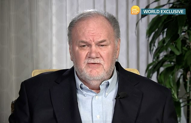 Thomas Markle slammed Meghan and Prince Harry for explosive new biography