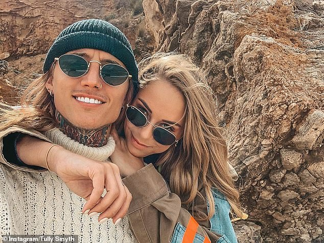 Way more awkward:Jess found herself in a much more awkward situation earlier this year, when she attended the same party as her ex Ciarran Stott and not one, but two of his exes: Tully Smyth and Angie Kent