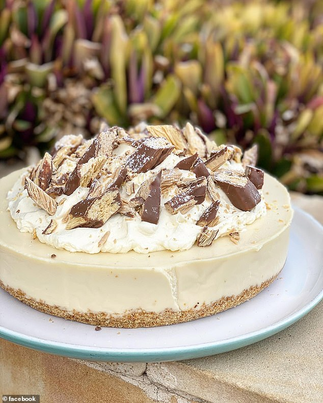 Hundreds of Australian cafes and amateur home cooks are baking indulgent Caramilk cheesecakes with the famous Cadbury chocolate blocks
