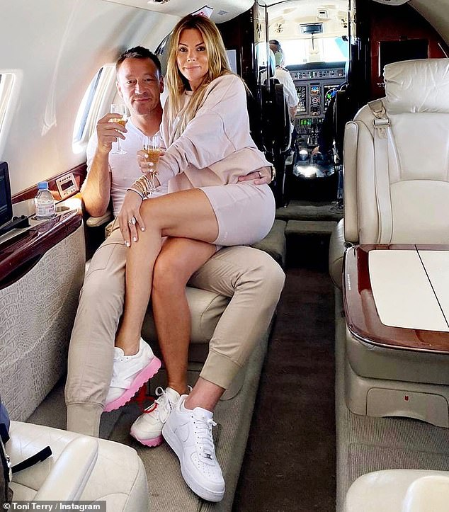 Celebrate:Last week, the couple took a private jet to Portugal, evading the Foreign and Commonwealth Office's ban on travel to the country amid the COVID-19 pandemic