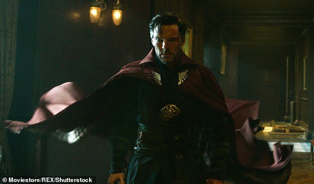 Big hit:Of course Doctor Strange went onto gross $677.7 million (£524 million) at the box office, and a sequel, Doctor Strange in the Multiverse of Madness, is set for March 2022