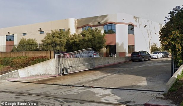 McDonald's supplier Golden State Foods Corp in Industry (above) was forced to close three.  There were 43 coronovirus cases associated with its facility in business