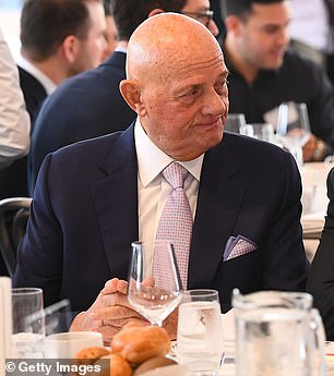 Retail businessman Solomon Lew is said to be another contender for the role