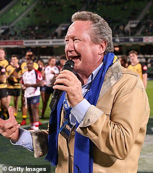 Mining magnate Andrew 'Twiggy' Forrest is one of the candidates rumoured to take on the role of the 'Boss'
