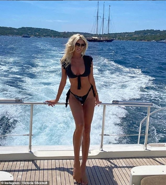 Jet-setter: In addition to frequenting St Tropez (pictured earlier this week), the media personality also spends much of his year in the tropical region of St Barth.