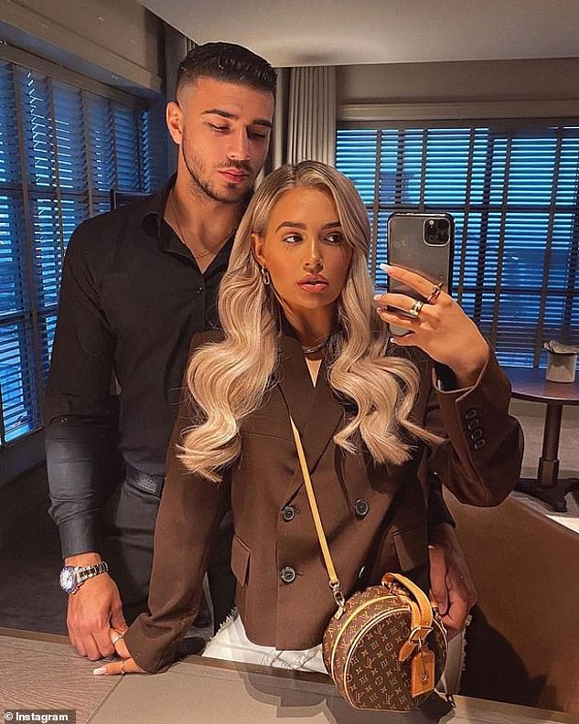 Stronger than ever:Meanwhile in the Q&A, the PrettyLittleThing ambassador discussed her romance with Tommy and says there is plenty of 'trust' between them