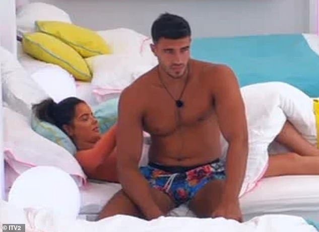 In the past: 'You have to understand that it¿s really OK. When that Maura and Tommy situation happened in Love Island, me and Maura didn¿t even know each other then, we weren¿t even friends'