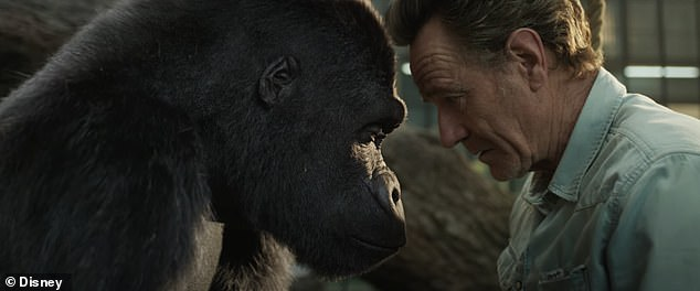 Coming Soon: He plays a trainer who puts a young gorilla named Ivan on stage for tourists, though Ivan escapes to find his younger sister.  The film will be released at Disney + on August 21
