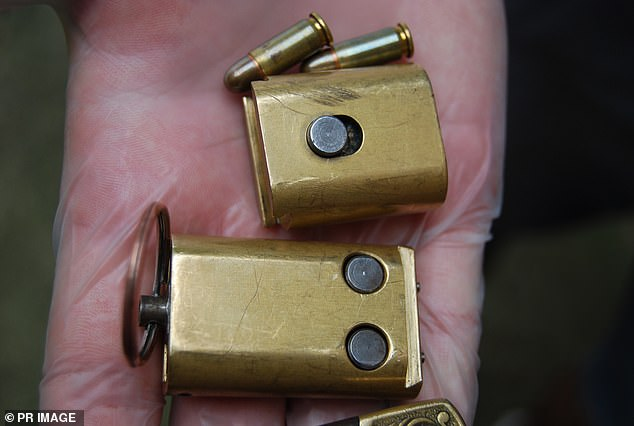 Miller allegedly told the police he had seen the 'key ring firearm' before but he didn't know who it belonged to (stock image)