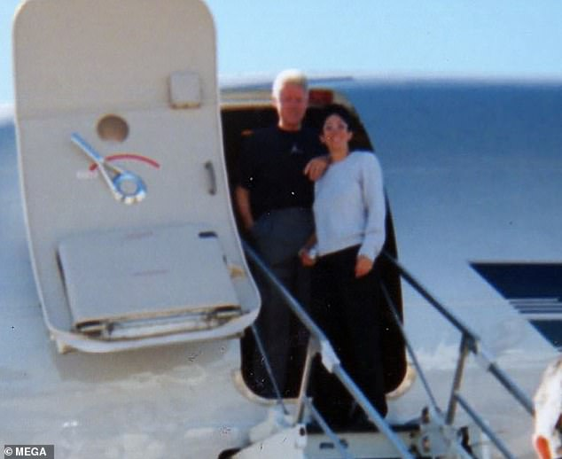 Bill Clinton and Ghislaine Maxwell were once pictured together on billionaire pedophile Jeffrey Epstein's private plane back in the early 2000s.The former president has repeatedly denied ever visiting Epstein's island in the Caribbean