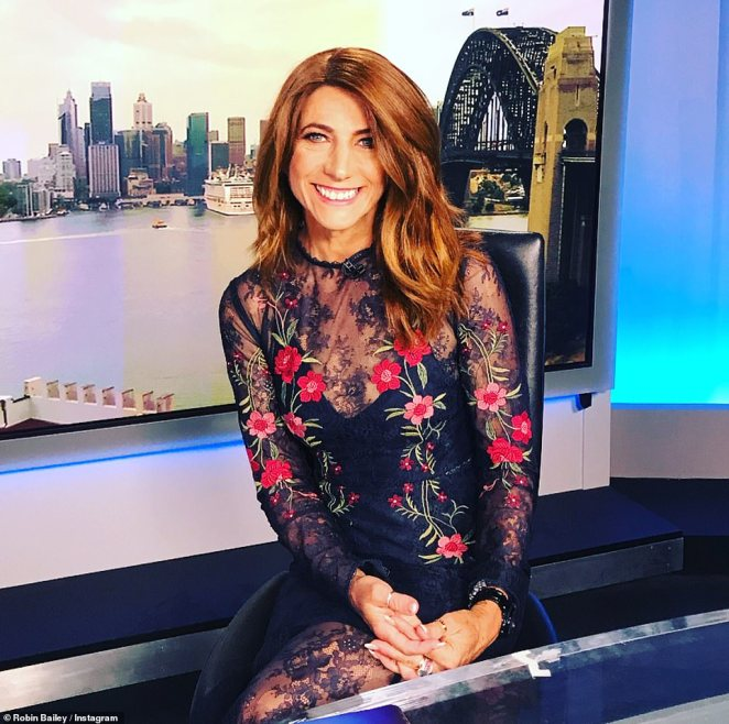 Robin Bailey (pictured) only returned to the airwaves in January, joining the Australian Radio Network's (ARN) 97.3 FM's breakfast show