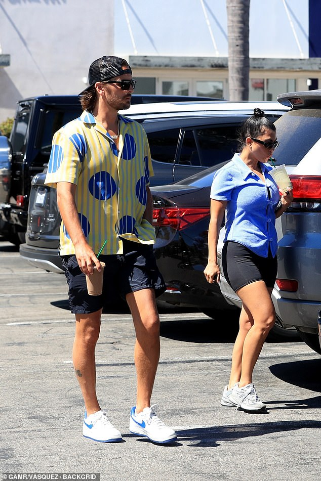 Local: They seemed to enjoy the Malibu area as Kourtney rented a mansion overlooking the water this summer