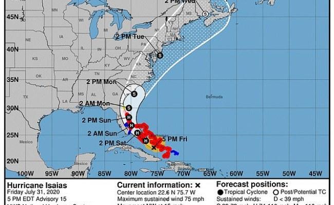 Hurricane Isaias May Stop Nasa Astronauts Returning To